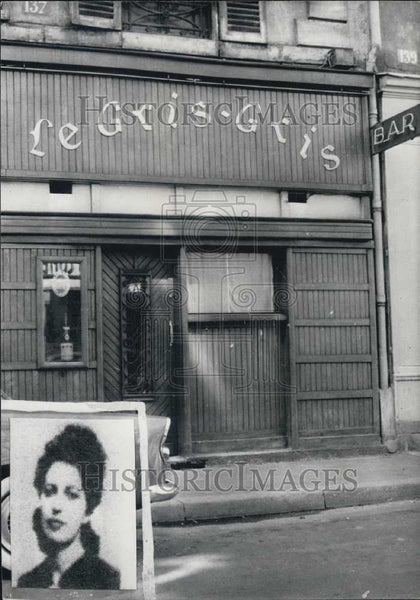 Press Photo Missing Woman From Le Gris-Gris - Historic Images