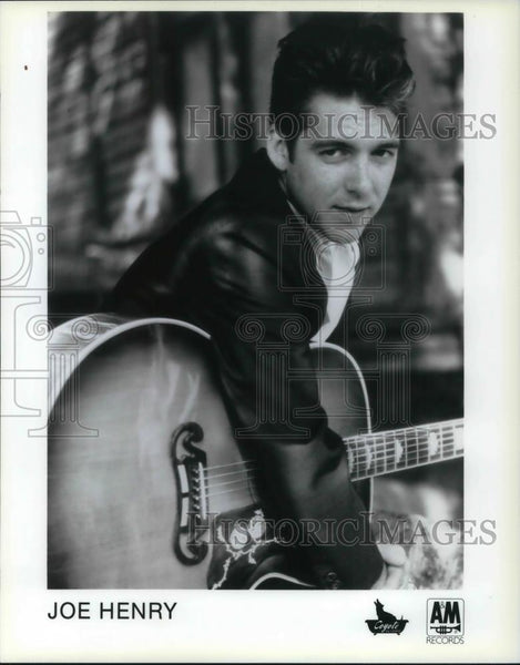 1989 Press Photo Joe Henry Jazz Americana Singer Songwriter and Guitarist - Historic Images