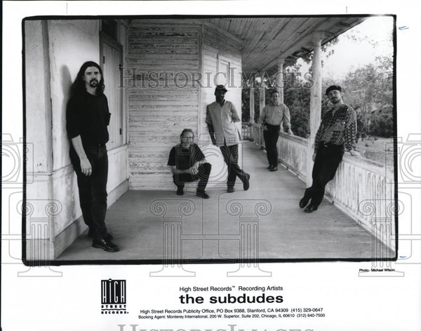 1996 Press Photo The Subdudes - cvp28169 - Historic Images