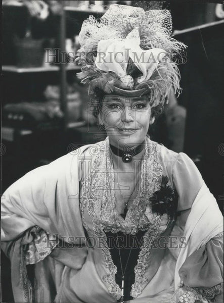 Press Photo Maria Schell, the German actress The Matchmaker - Historic Images