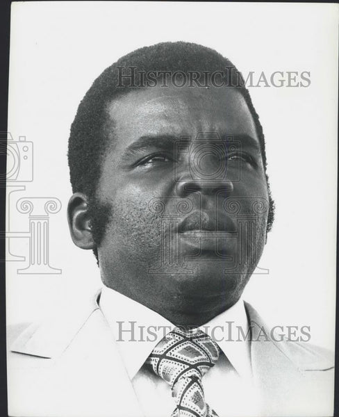 Press Photo Marien NguabiPresident of Congo - Historic Images