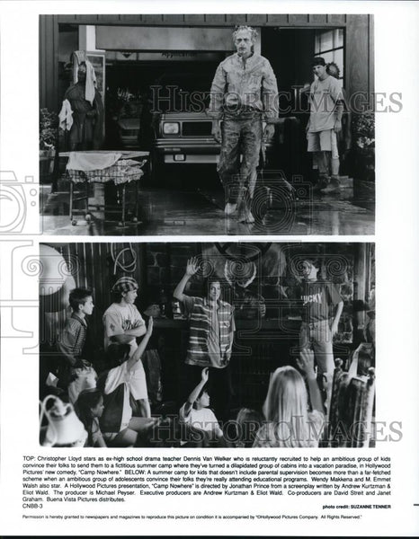 1995 Press Photo Christopher Lloyd in Camp Nowhere - cvp28005 - Historic Images