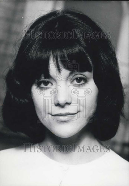 Press Photo Francoise Taillandier, French Writer - Historic Images