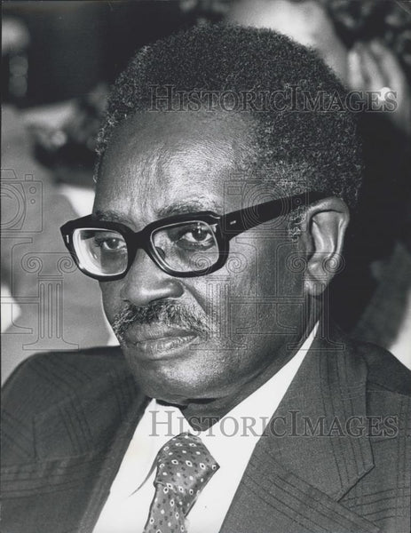 1978 Press Photo Dr. Agostinho Neto, President of Angola - Historic Images