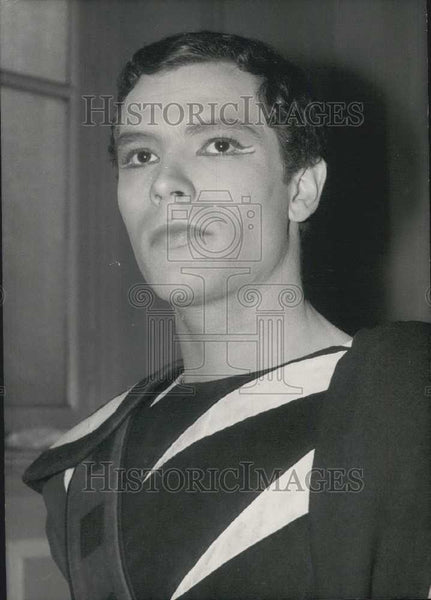 1962 Press Photo Claude Giraud, actor of tradgedy films - Historic Images