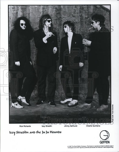 1993 Press Photo Izzy Stradlin and the JuJu Hounds - cvp27928 - Historic Images