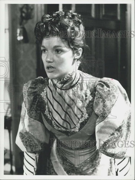Press Photo Actress Louise Jameson - Historic Images