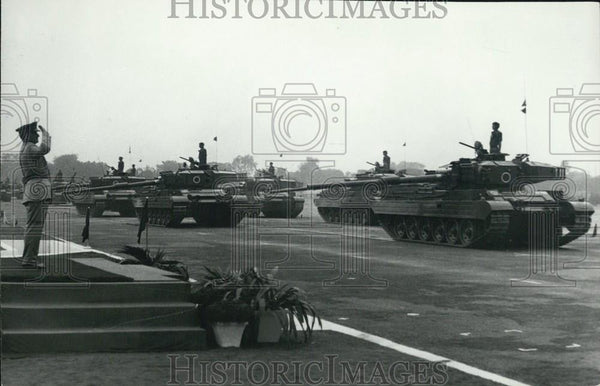 1976 Press Photo Chief of the Army Staff General T.N.Raina - Historic Images