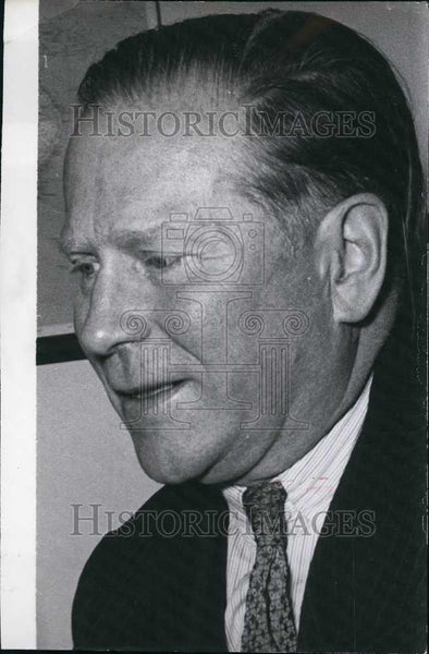 Press Photo German Politician. - Historic Images