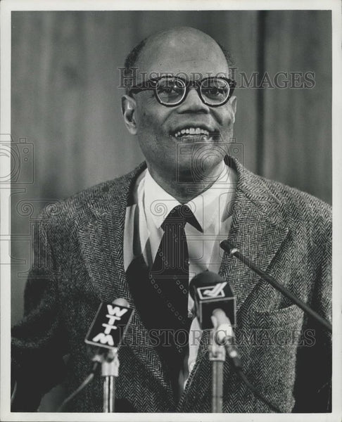 1979 Press Photo Sir Arthur Lewis first black to receive a Nobel Prize - Historic Images