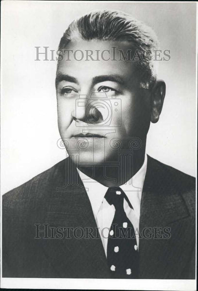 Press Photo Joh Gheorghe Maurer President Council Ministers Romania - Historic Images