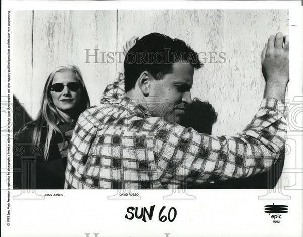 "1993 Press Photo ""Sun 60"" Joan Jones and David Russo - cvp28186 - Historic Images"