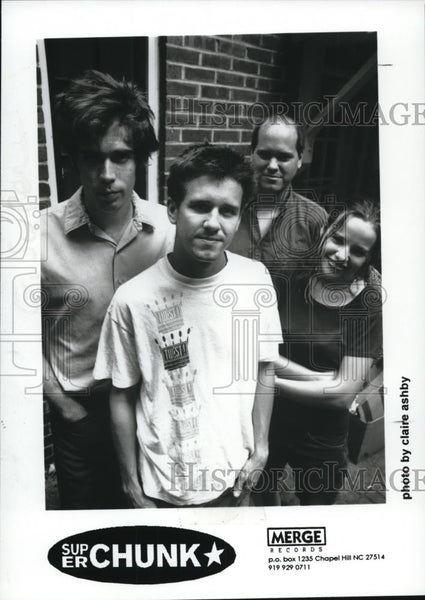 1995 Press Photo Superchunk - cvp27949 - Historic Images