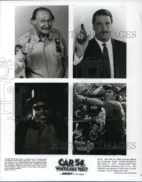 1994 Press Photo Al Lewis in Car 54 Where Are You? - cvp27866 - Historic Images