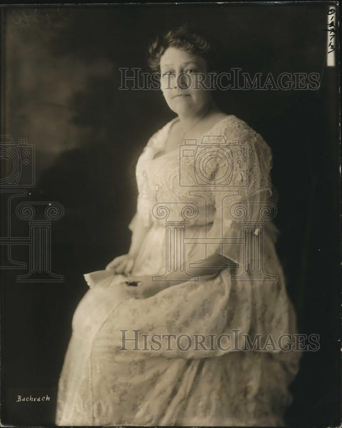 1920 Press Photo Mrs Lindley H Hadley wife of Rep Hadley of Wash. - Historic Images