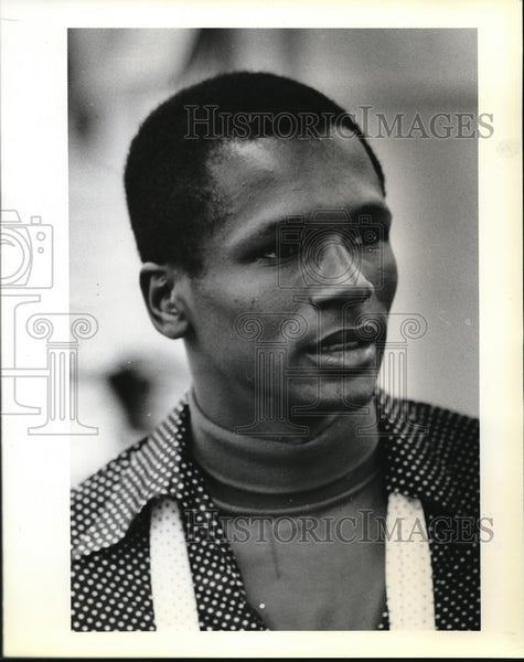 1979 Press Photo Harold Hines, president of PCC's Black Cultural Society - Historic Images