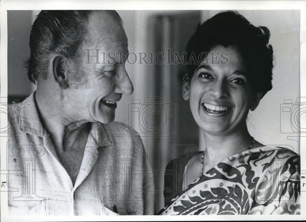 1973 Press Photo Mr. and Mrs. James Cameron - ora00042 - Historic Images