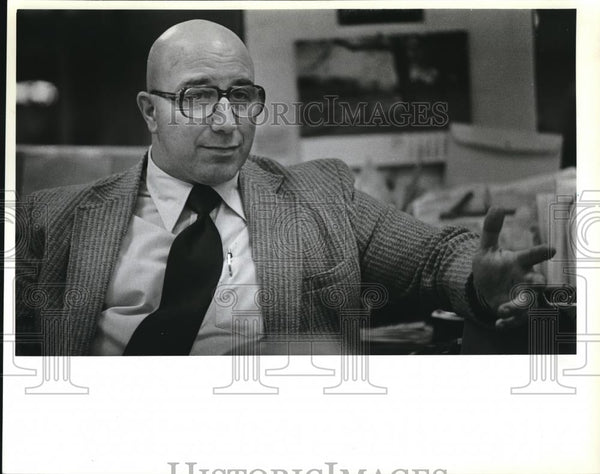 1981 Press Photo Ben Cannon, owner of Gresham based The Small Business Institute - Historic Images