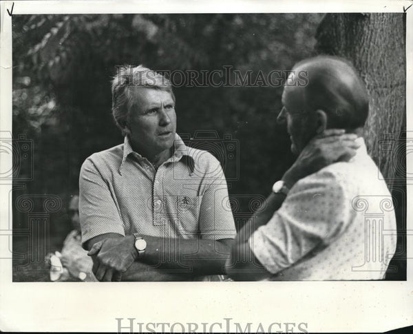 1973 Press Photo Dunbar Carpenter and Melvin Schuler. - ora00027 - Historic Images