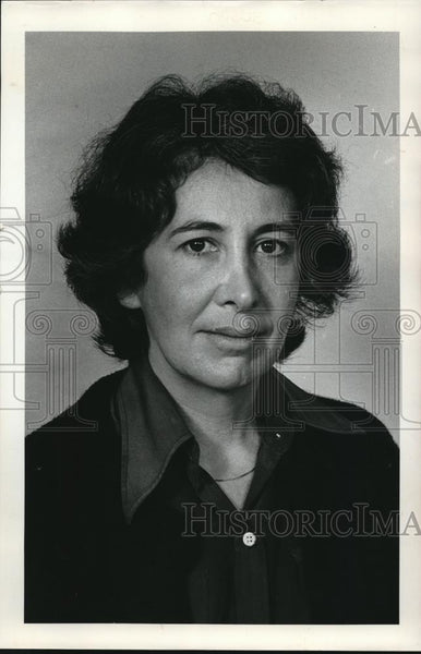 1976 Press Photo Susan Brownmiller, Author Against Our Will Men, Women and Rape - Historic Images