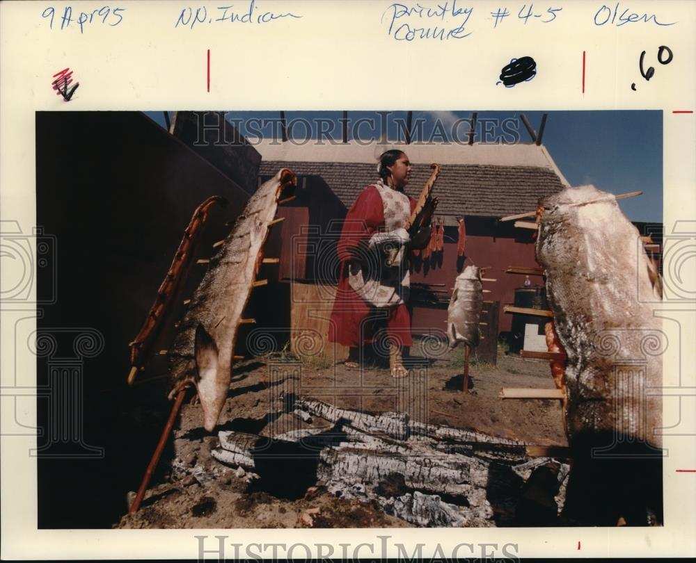 1995 Press Photo Cecilo Indians Native Americans - ora39607 - Historic Images