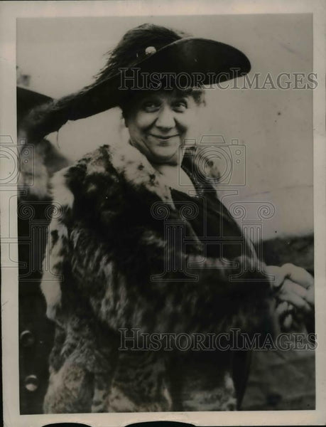 1922 Press Photo Madam Joffre of France arrived in Seattle - Historic Images