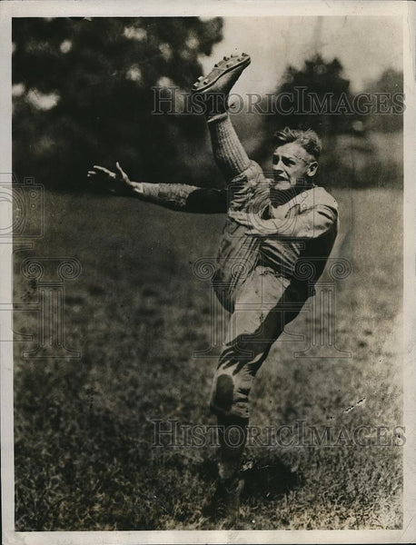 Press Photo Jimmy Anderson, captain, Carnegie Institute of Technology football - Historic Images