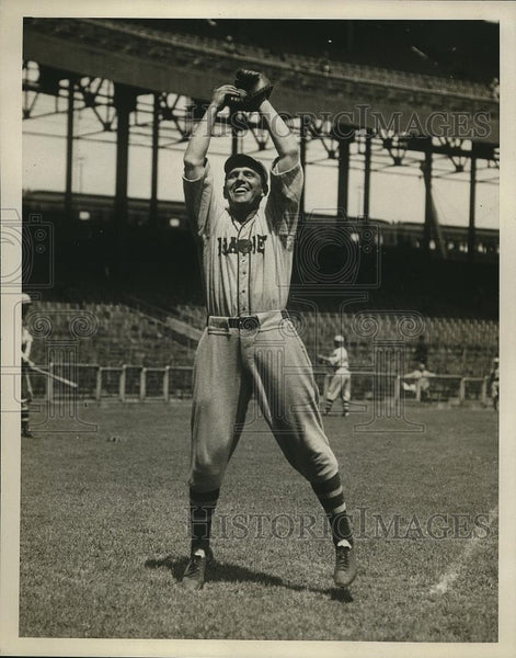 1933 Press Photo Joe Mowry, outfielder for the Boston Braves - Historic Images