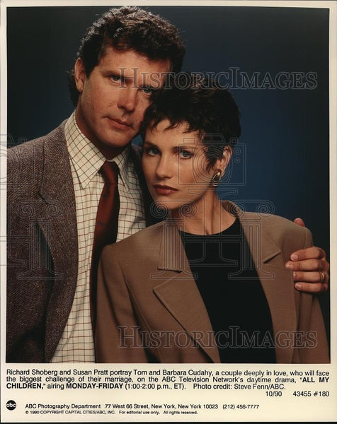 1990 Press Photo Richard Shoberg Susan Pratt - cvp68943 - Historic Images