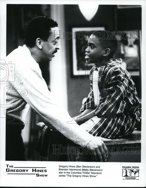 Press Photo Gregory Hines & Brandon Hammond in The Gregory Hines Show - Historic Images