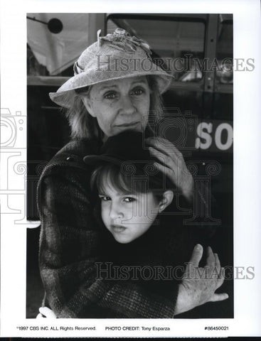 1997 press photo patty duke eric lloyd in a christmas memory cvp44641 historic - A Christmas Memory 1997