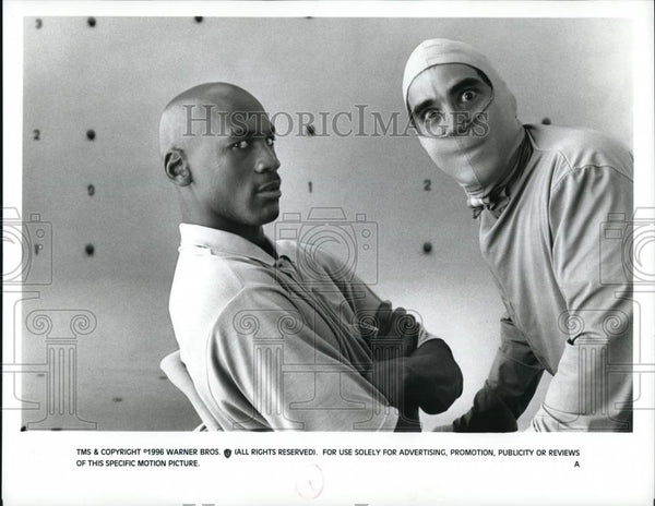 1996 Press Photo Michael Jordan stars in Space Jam - cvp51071 - Historic Images