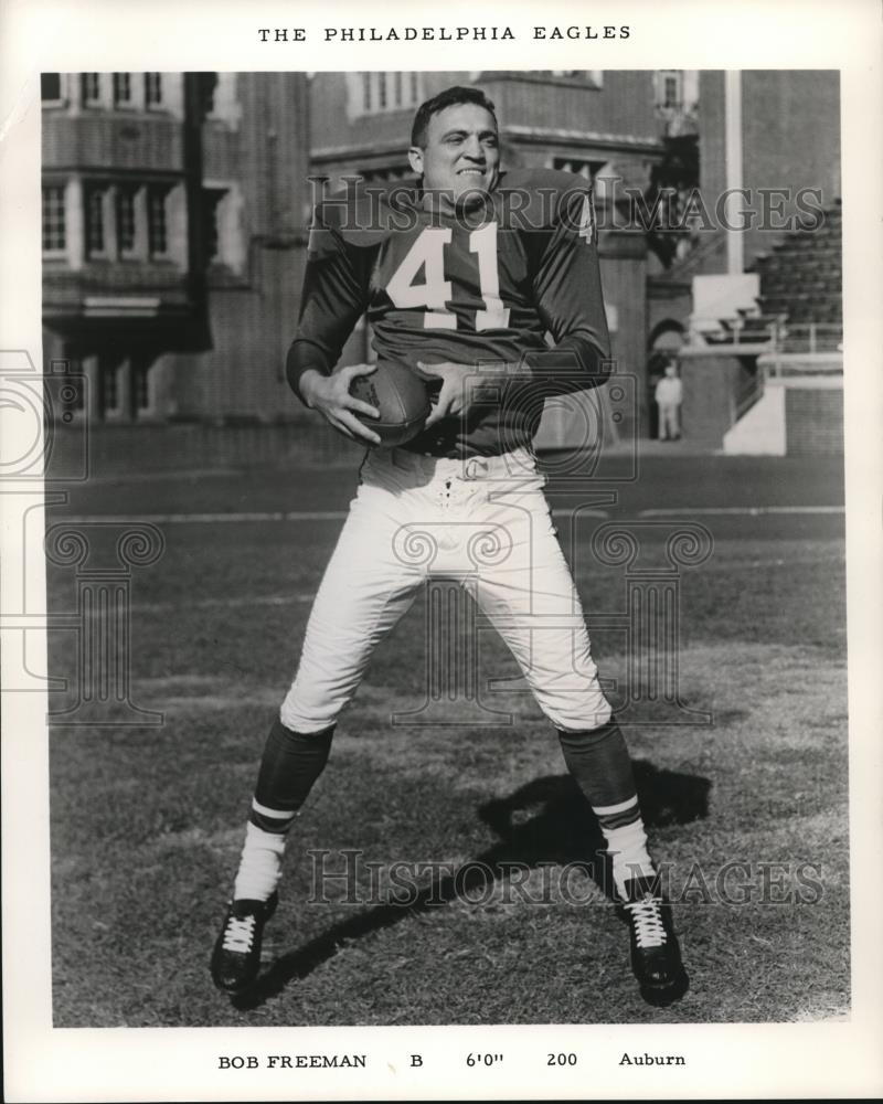 1965 Press Photo Bob Freeman Of Auburn Football - Historic Images