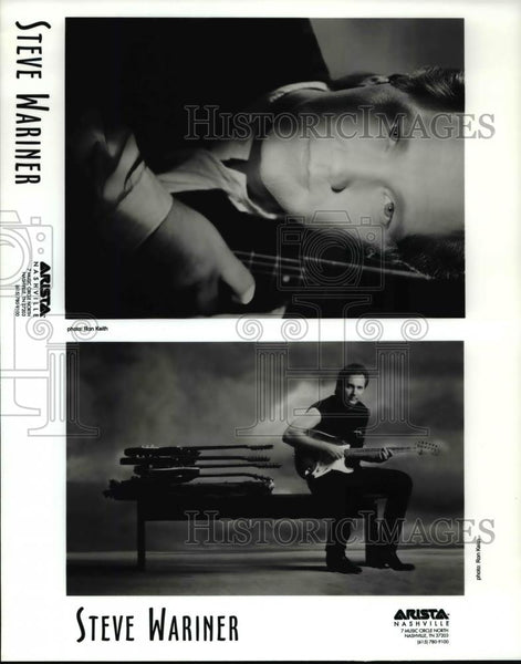 Press Photo Steve Wariner - cvp75545 - Historic Images