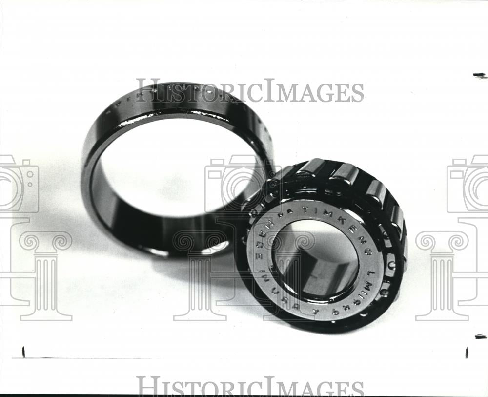 1987 Press Photo Timken bearings, products made in Ohio