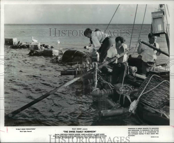 1969 Press Photo Swiss Family Robinson - Historic Images