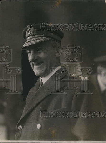 1920 Press Photo Admiral Julicoe in Wash DC - Historic Images