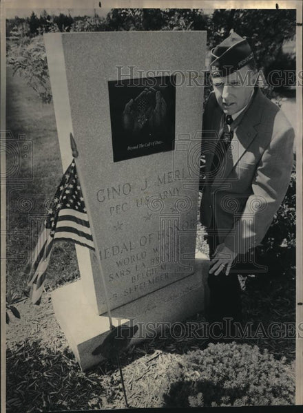 1991 Press Photo Medal of Honor - Historic Images