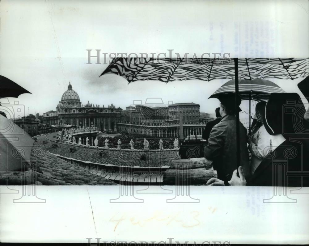 1969 Press Photo Movie The Shoes of the Fisherman