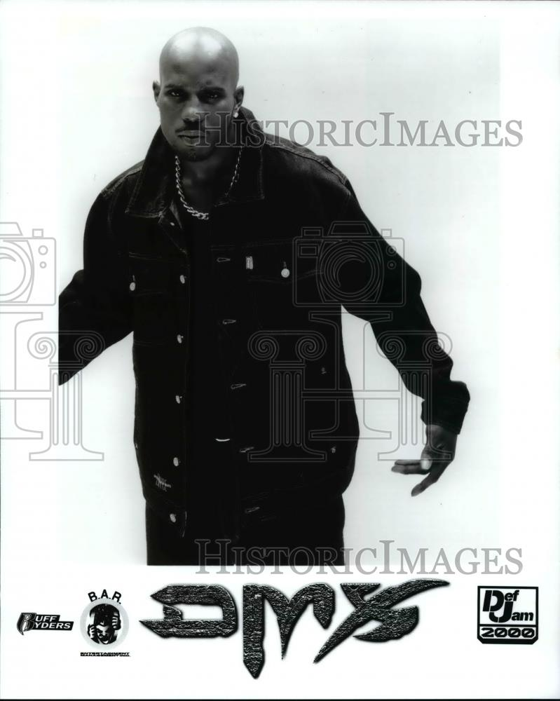Press Photo DMX Hip Hop Rapper - cvp70181 - Historic Images