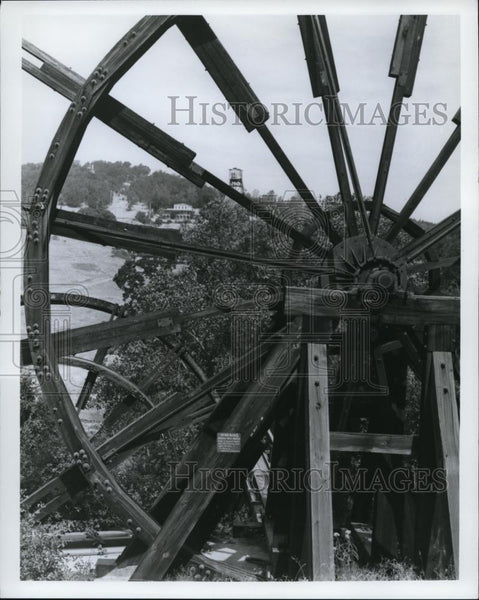 Press Photo These huge wheels built in 1912 at Jackson - Historic Images