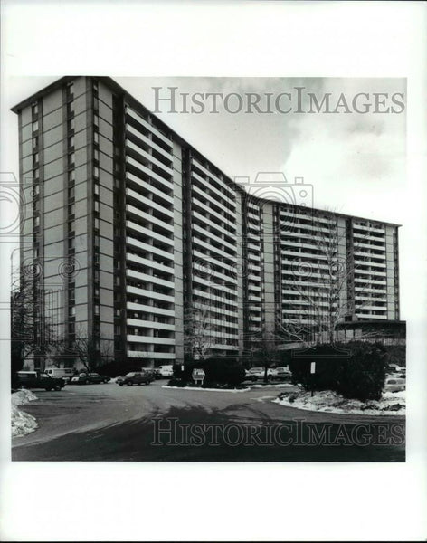 1992 Press Photo The Lakeshore Americana housing - Historic Images