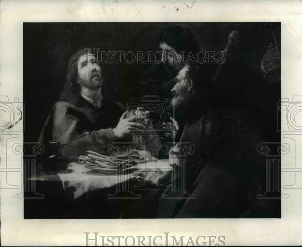 1941 Press Photo The Supper at Emmaus Painting - cva59511 - Historic Images