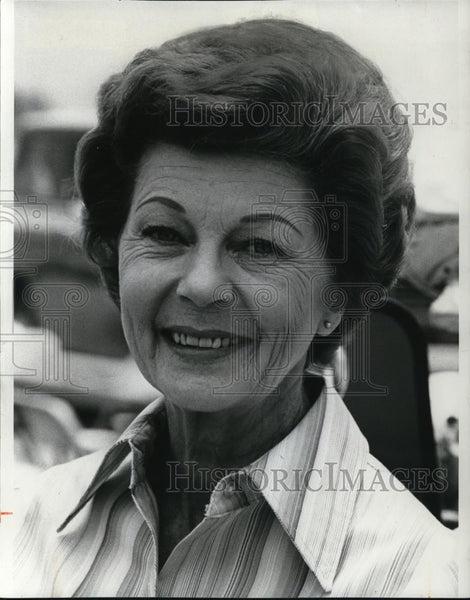 1976 Press Photo Harriet Nelson American Singer and Actress Ozzie and Harriet - Historic Images