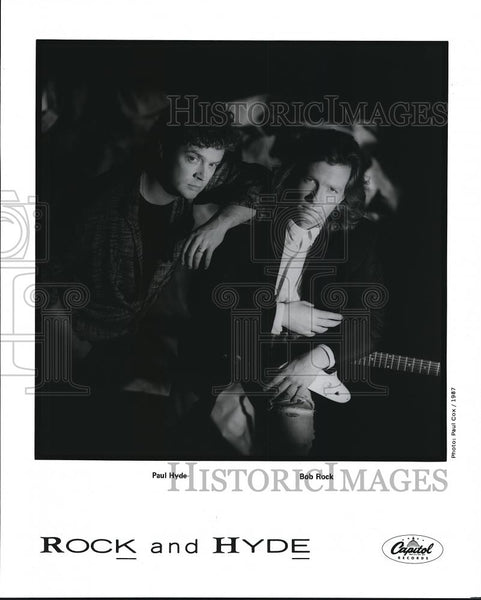 Press Photo Rock and Hyde Paul Hyde and Bob Rock - cvp68480 - Historic Images