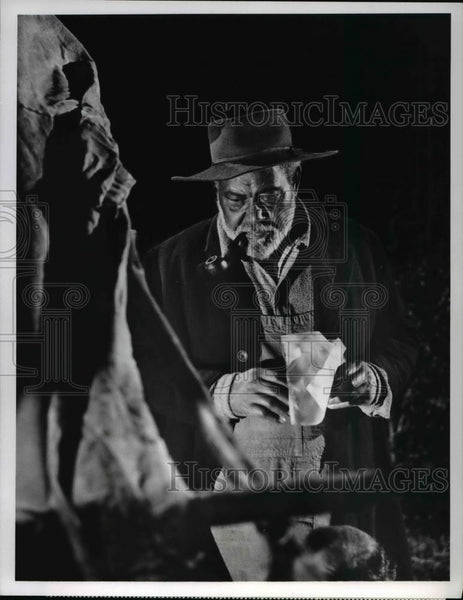 1969 Press Photo Rex Ingram on Gunsmoke - cvp54974 - Historic Images