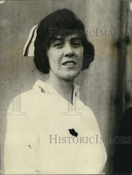 1923 Press Photo Nurse Ruth Powderby - Historic Images