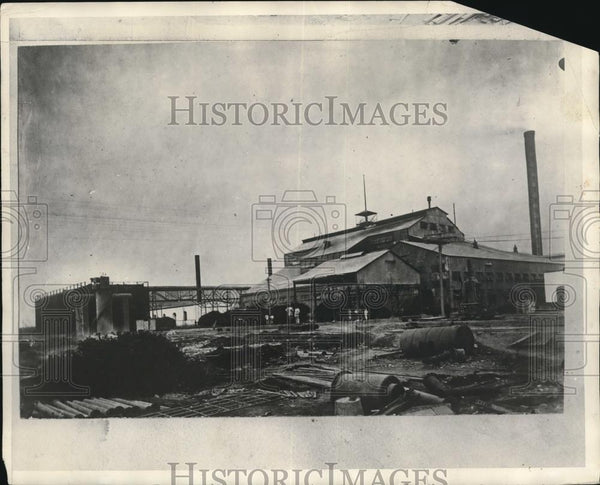 1929 Press Photo of a sugar factory in Peru. - Historic Images