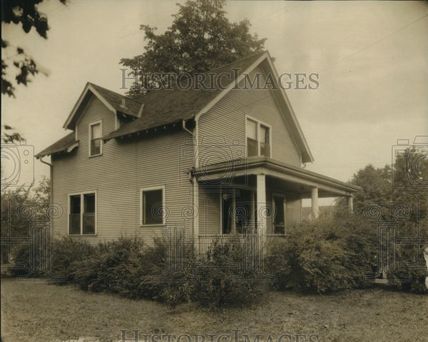 1921 Press Photo Home of Lt Colonel A.V. Smith Washington Illinois - Historic Images