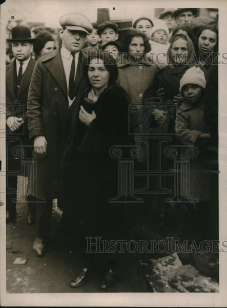1922 Press Photo Mrs Sarah Silver survived fire that killed family - nee11077 - Historic Images
